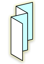 accordian fold