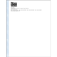 "Letterhead 8.5"" x 11"" (Advanced)"